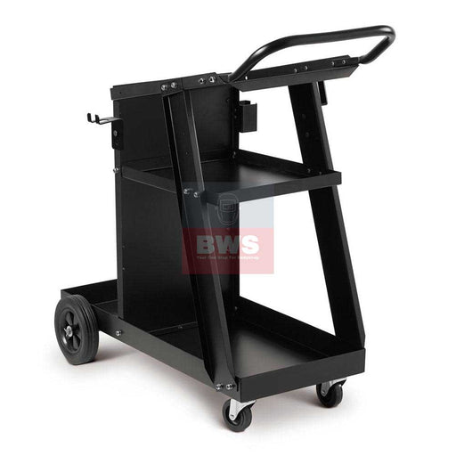 Telwin Small Inverter Trolley Top Loading with small bottle carrier. Ideal for small inverters, dent pull welders, and the smart inductor SKU 803084