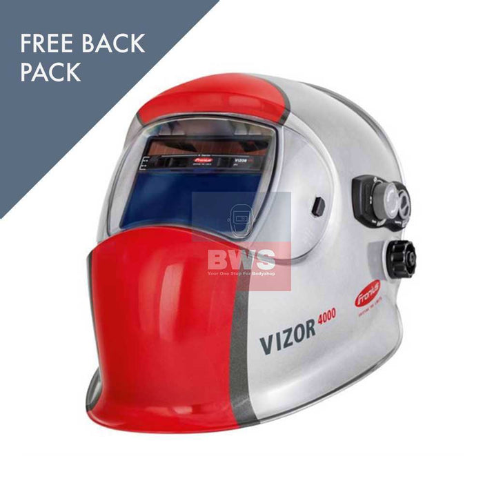 Fronius Vizor 4000 Plus with FREE backpack SKU 42,0510,0230