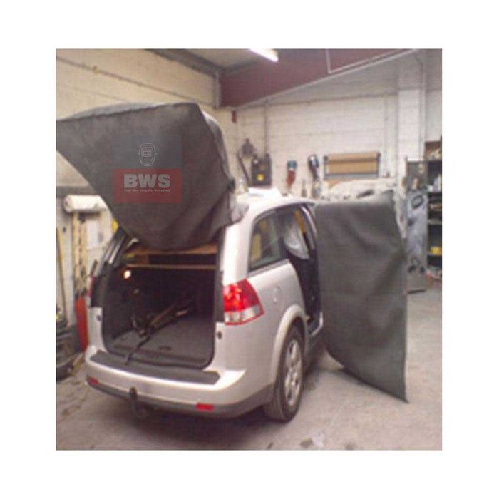 Weldbag Carbon Protection cover for Large tailgates and vehicle doors 1.8mx1.8m SKU