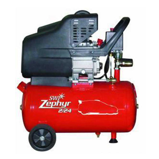 SWP Zephyr 2/24 2Hp Oil Lubricated Compressor, 24Litre Tank