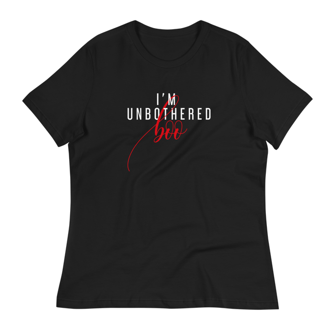 I'm Unbothered - Women's Relaxed T-Shirt