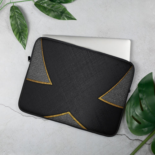 Black and Gold - Laptop Sleeve