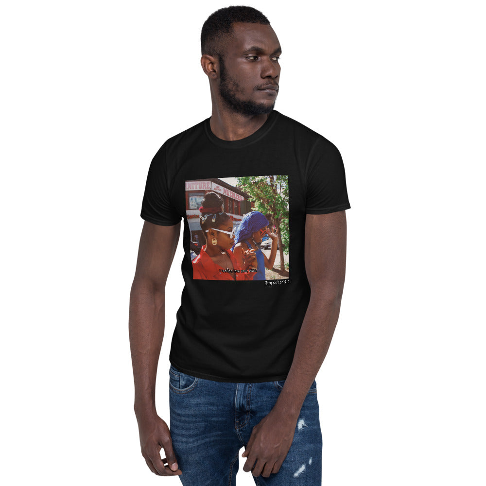 Short-Sleeve Unisex T-Shirt - EYEOFSCOTTIE Diaries 004