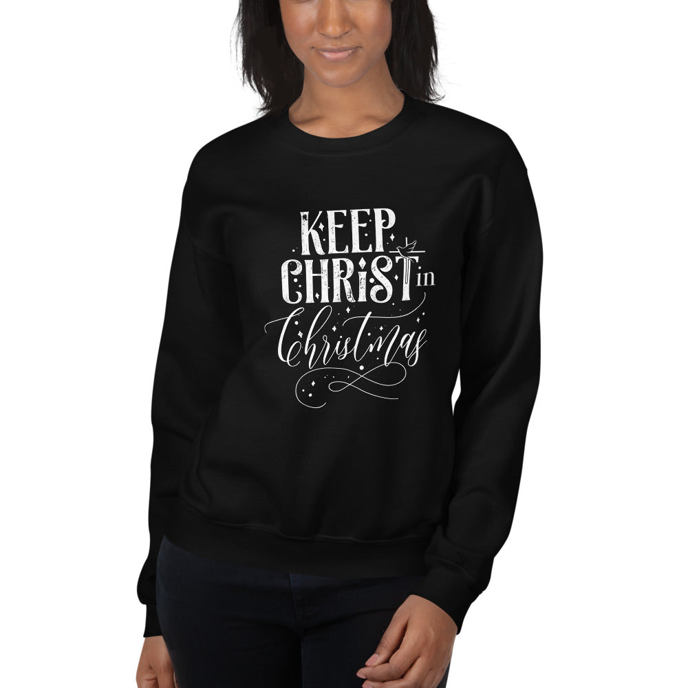 Keep Christ in Christmas - Unisex Sweatshirt