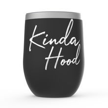 Load image into Gallery viewer, Stemless Wine Tumblers - Kinda Hood