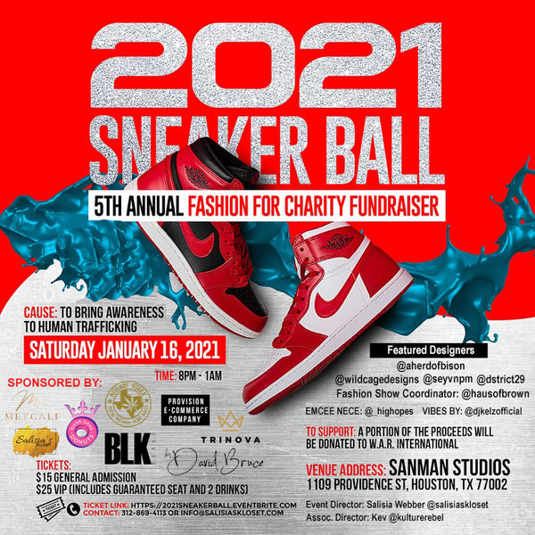 2021 Sneaker Ball Fundraiser Event & Fashion Show
