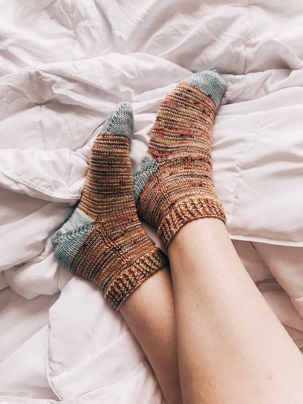 Netflix & Knit Sock Pattern