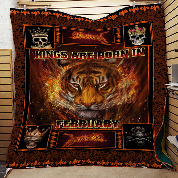 KINGS ARE BORN IN FEBRUARY SPECIAL QUILT