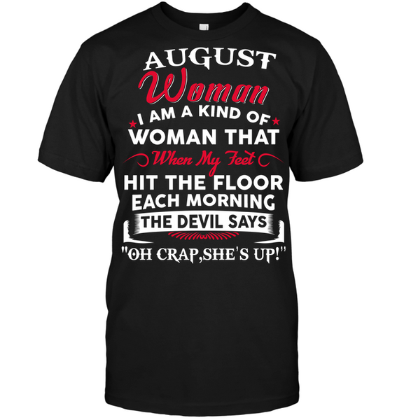 AUGUST  QUEEN WOMAN KIND