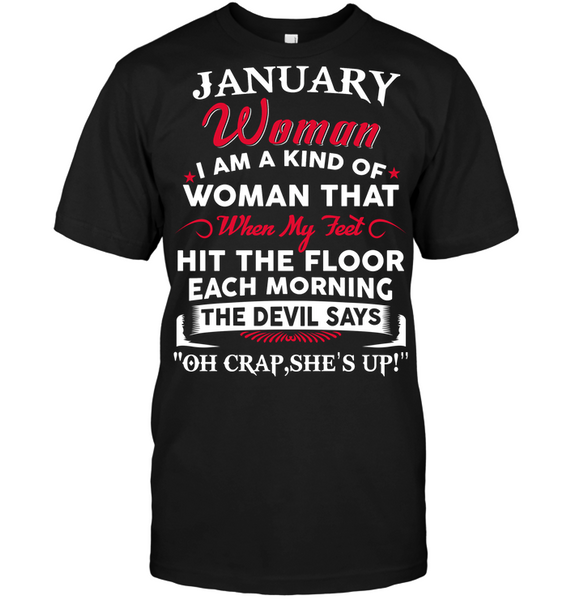 JANUARY  QUEEN WOMAN KIND