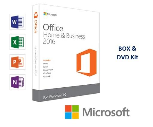 Microsoft Office Home and Business Full Pack 2016 T5D-02695 e93bb1692cb7