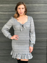 Load image into Gallery viewer, JORDYN PLAID DRESS