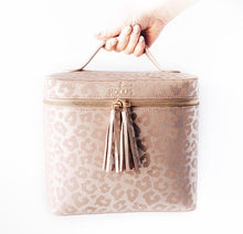 Load image into Gallery viewer, LEOPARD LUX MAKE UP BAG