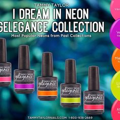 I Dream in Neon Nail Lacquer Bundle