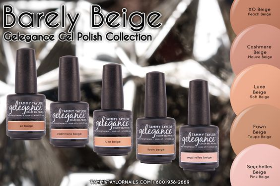 Barely Beige Gelegance Gel Polish Bundle