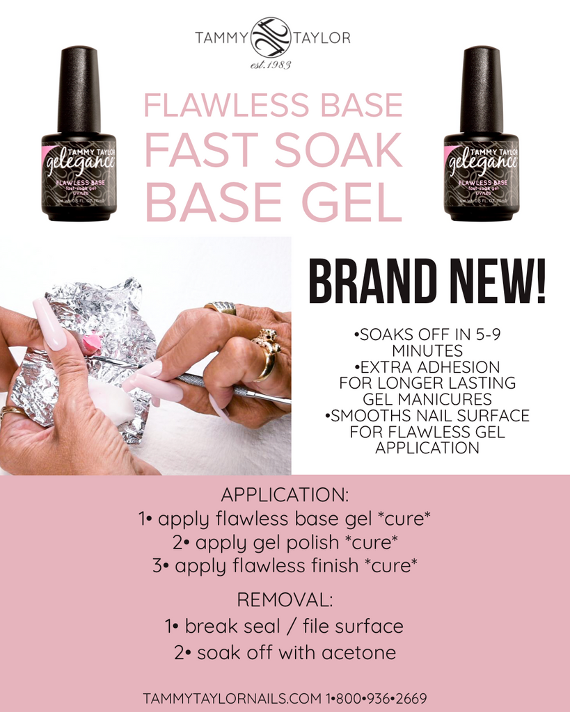 FAST SOAK Flawless Base Gel
