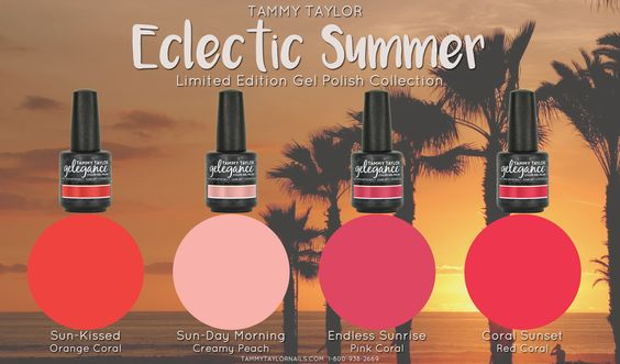 Eclectic Summer Nail Lacquer Bundle