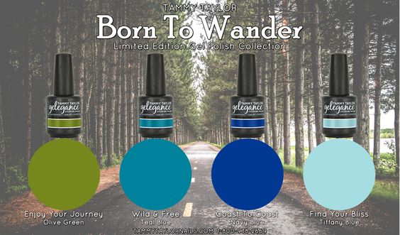Born To Wander Gelegance Gel Polish Bundle