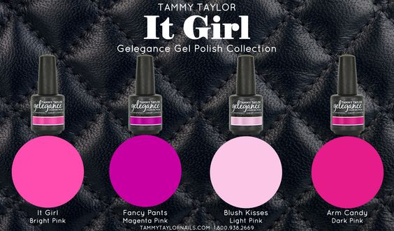 It Girl Gelegance Gel Polish Collection