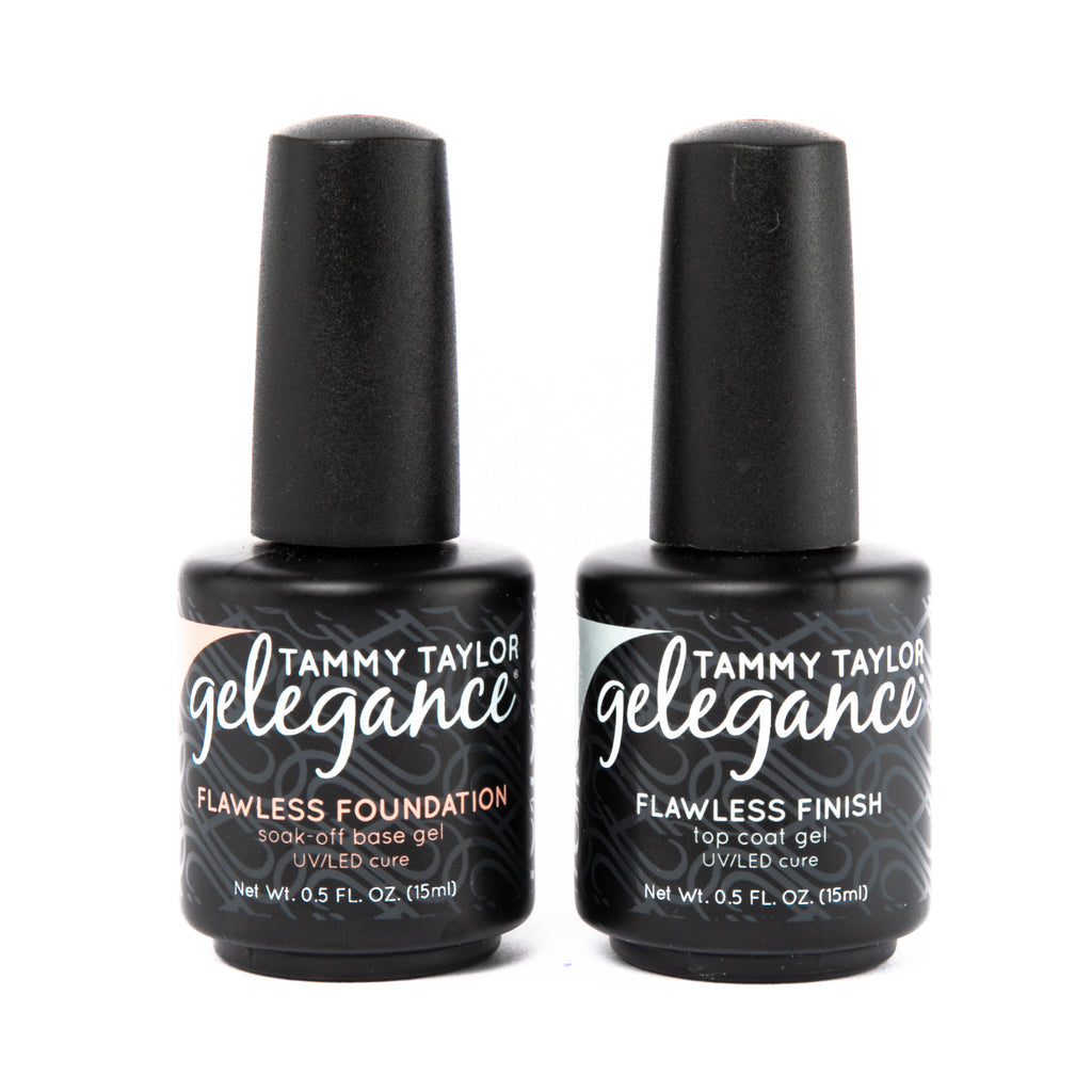 Flawless Foundation Base Coat & Flawless Finish Top Coat Bundle
