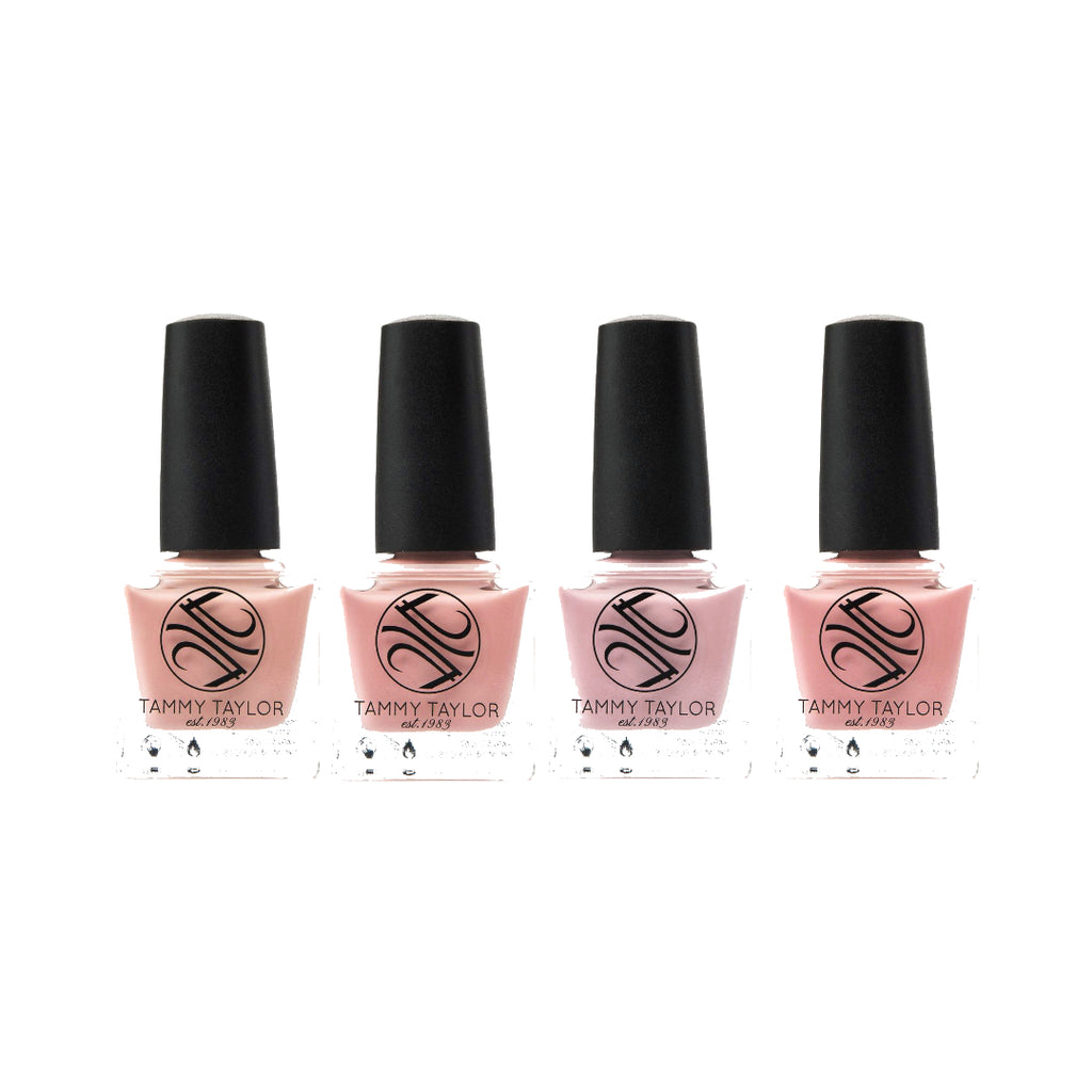 Creamy French Pinks Nail Lacquer Bundle