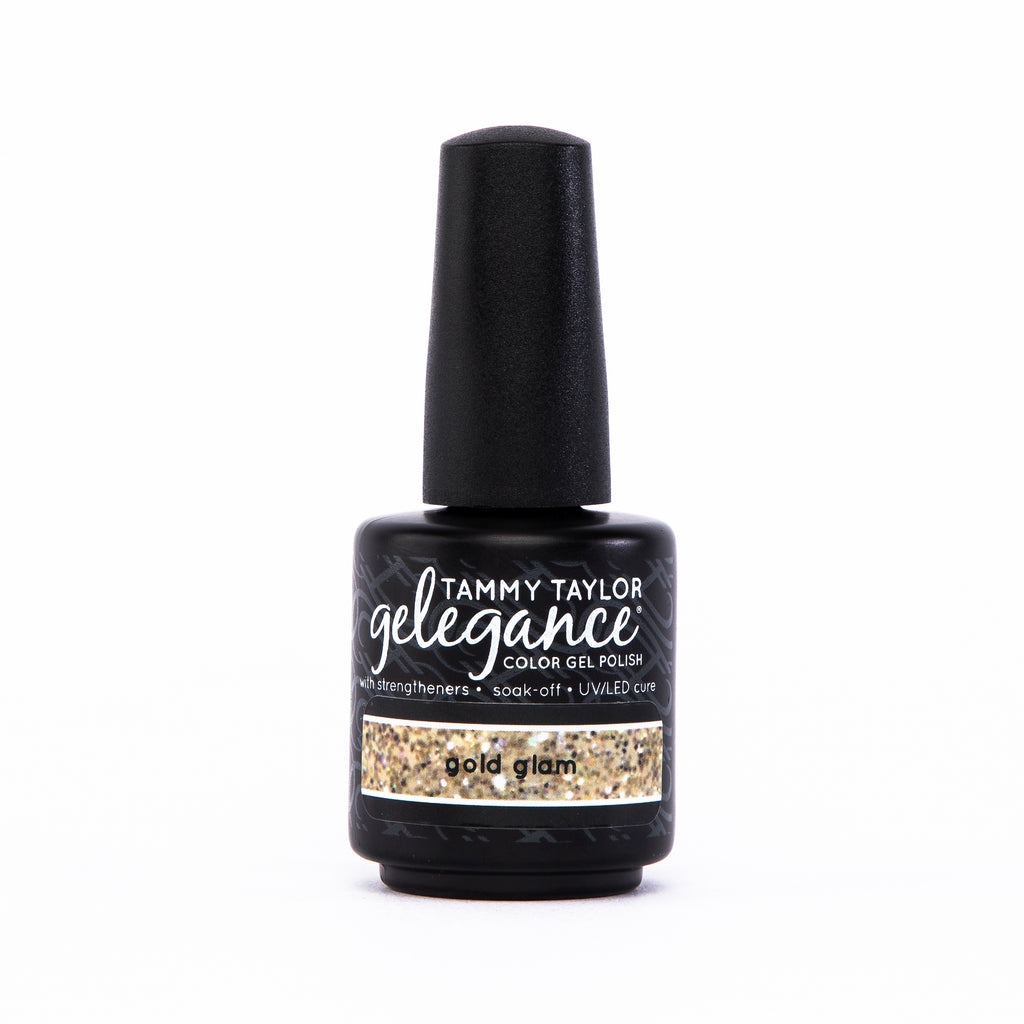 Gold Glam Gelegance Gel Polish
