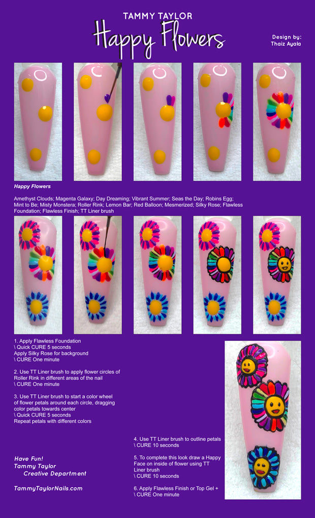 Happy Flowers Step By Step Bundle