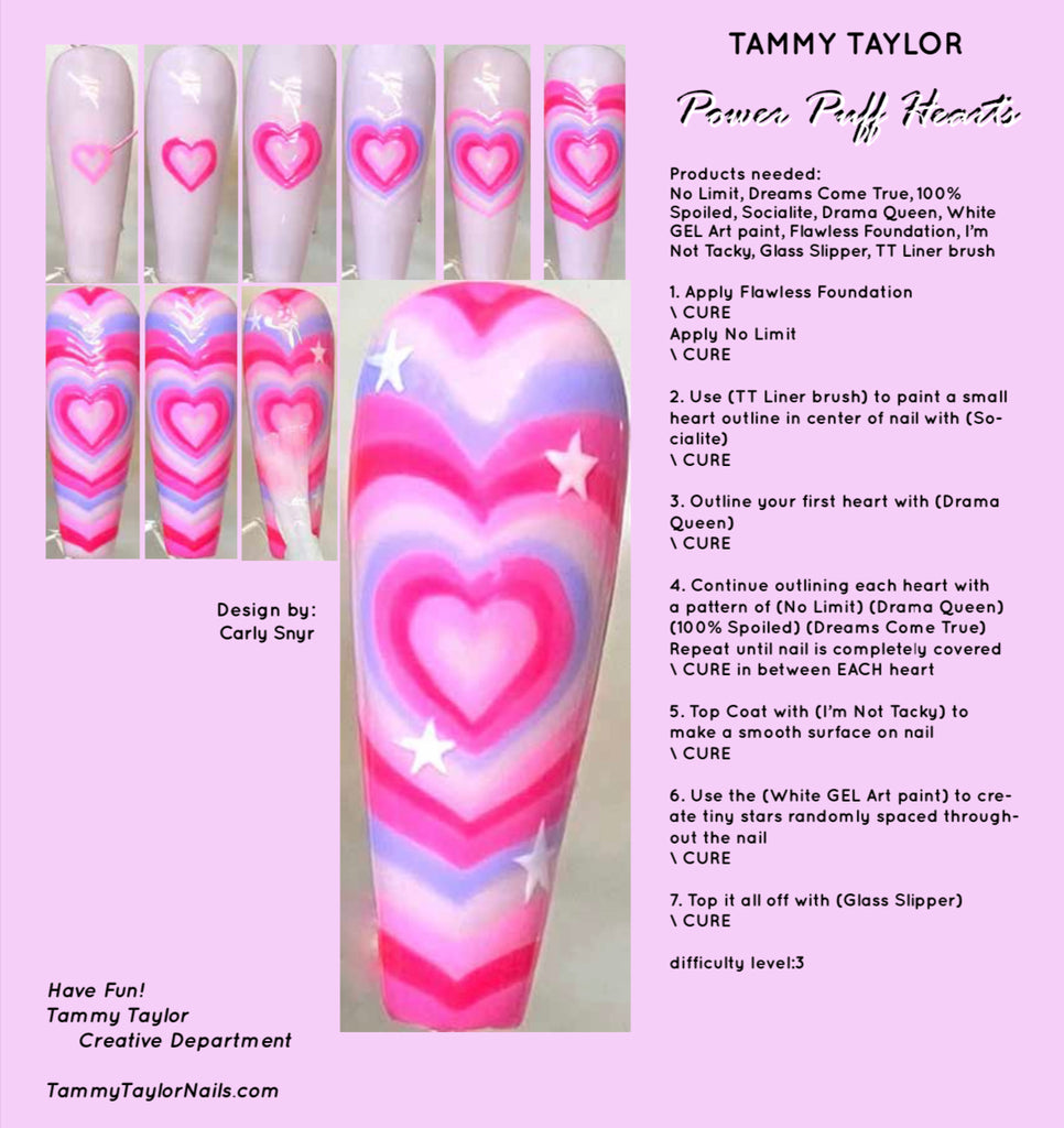 Power Puff Hearts Step By Step Bundle