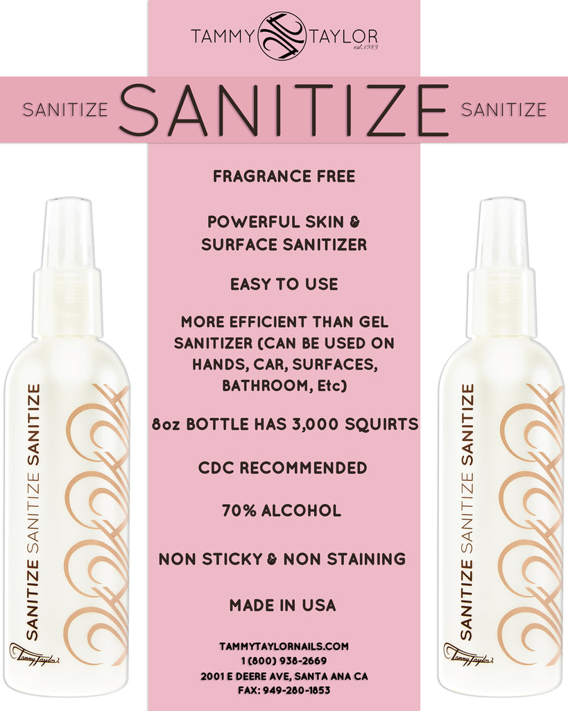 Fragrance-Free Sanitize