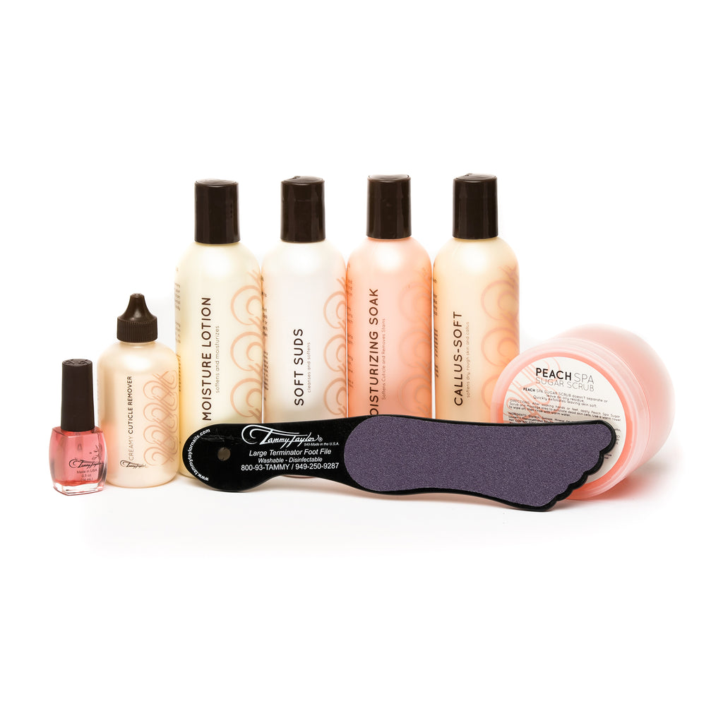 Peach Spa Manicure/Pedicure Kit