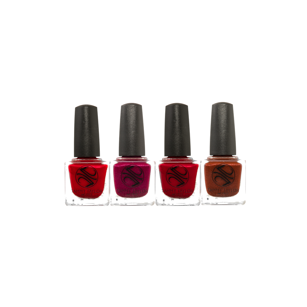 Spicy Hot Nail Lacquer Bundle