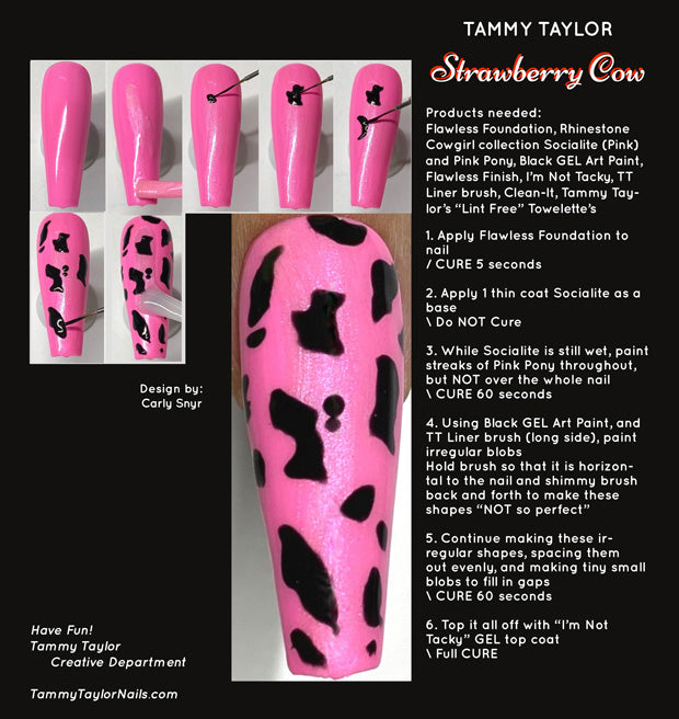 Strawberry Cow Step By Step Bundle