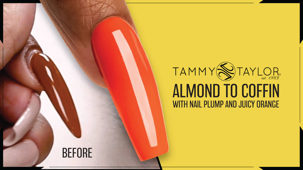 Almond to Coffin with Nail Plump and Juicy Orange Bundle