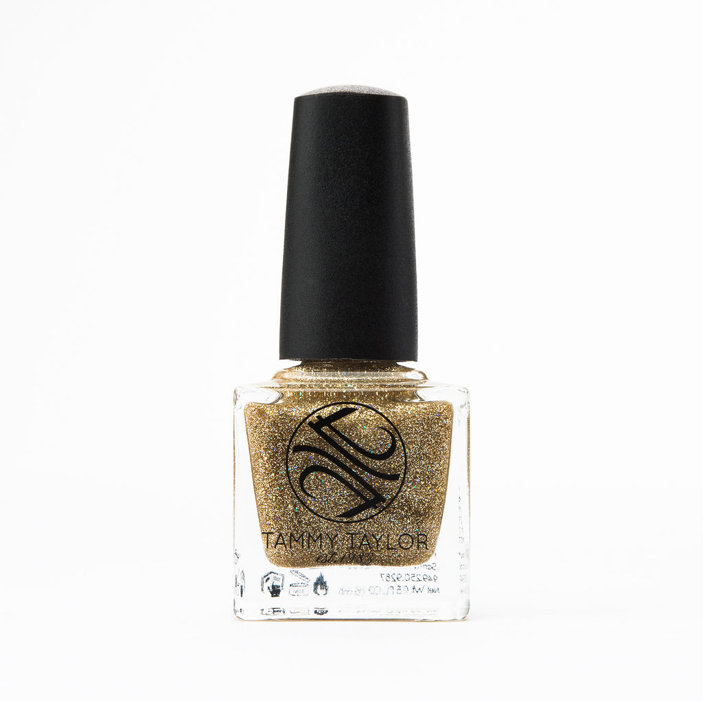 Gold Glam Nail Lacquer