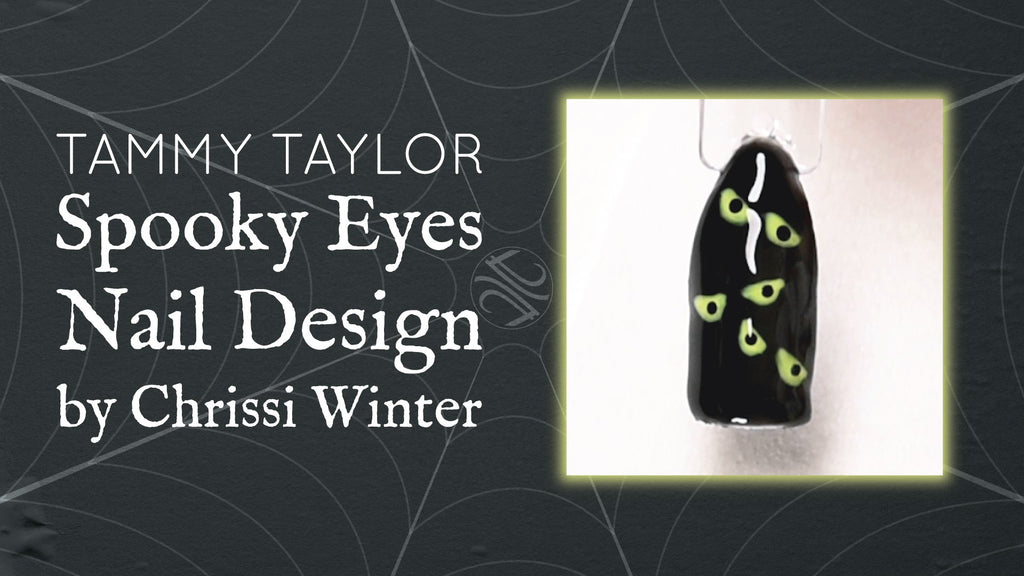 Spooky Eyes Nail Design Bundle