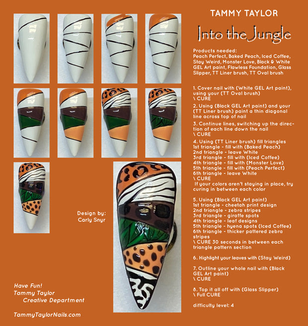 Into The Jungle Step By Step Bundle