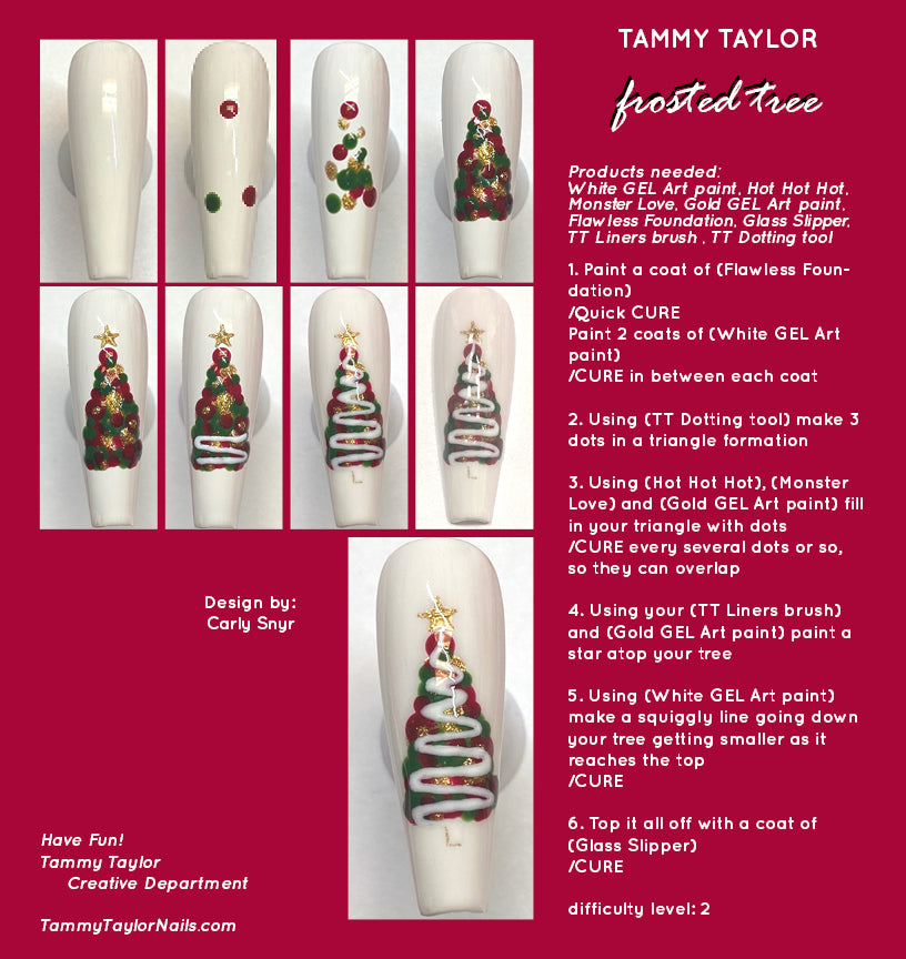 Frosted Tree Step By Step Bundle