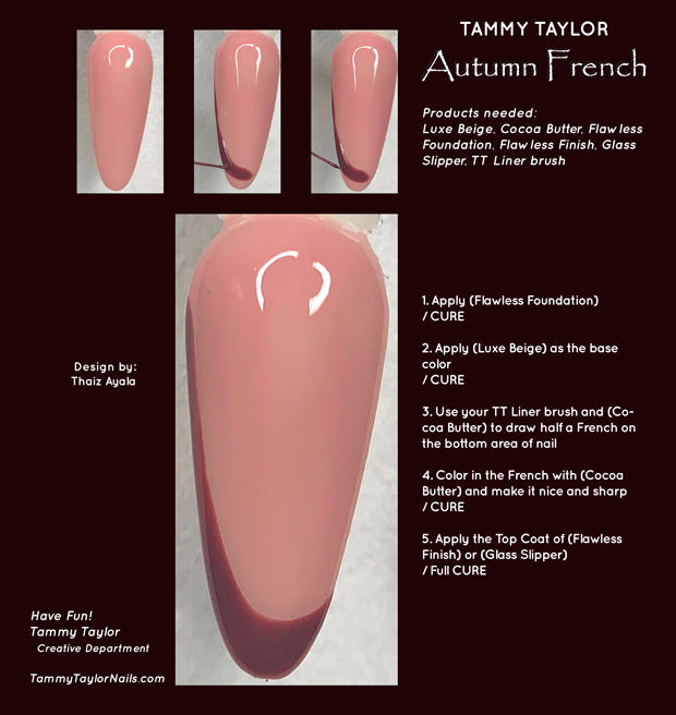 Autumn French Step By Step Bundle