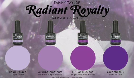 Radiant Royalty Gelegance Gel Polish Bundle