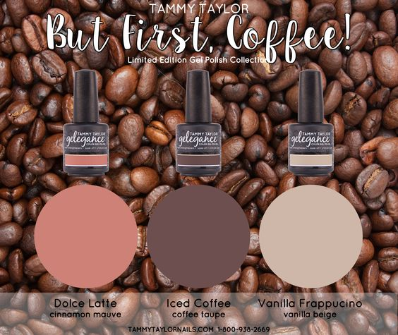 But First Coffee Nail Lacquer Bundle