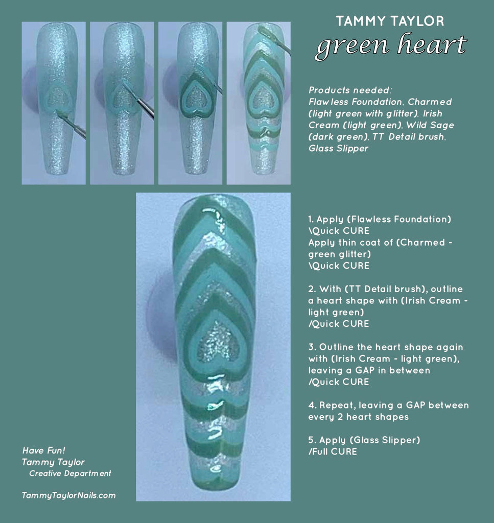 Green Heart Step by Step Bundle