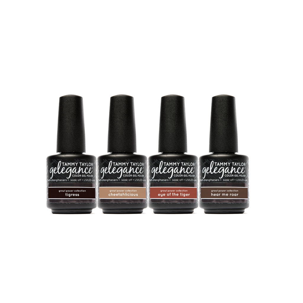 Growl Power Gelegance Gel Polish Bundle