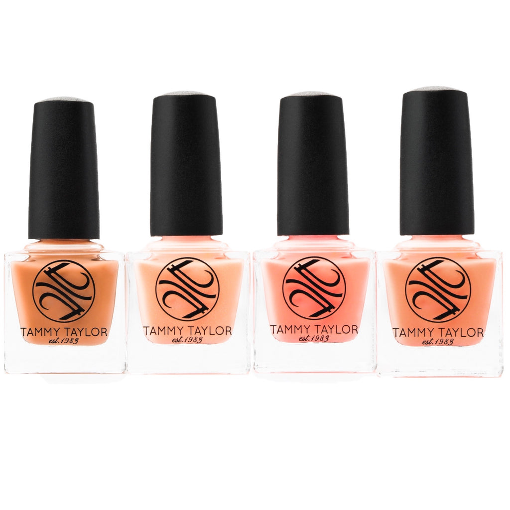 Pretty In Peach Nail Lacquer Collection