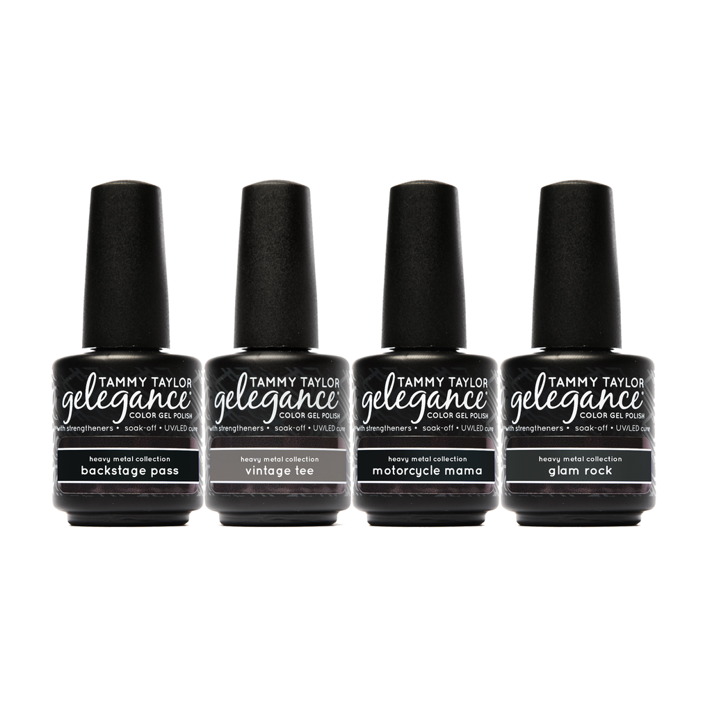Heavy Metal Gelegance Gel Polish Bundle