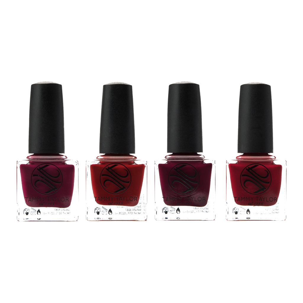 Paint The Town Burgundy Nail Lacquer Bundle