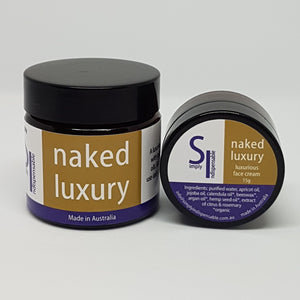Naked Luxury  - 50g *New Formulation with 2 forms of Hyaluronic Acid*