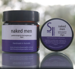 Simply Indispensable Naked Men