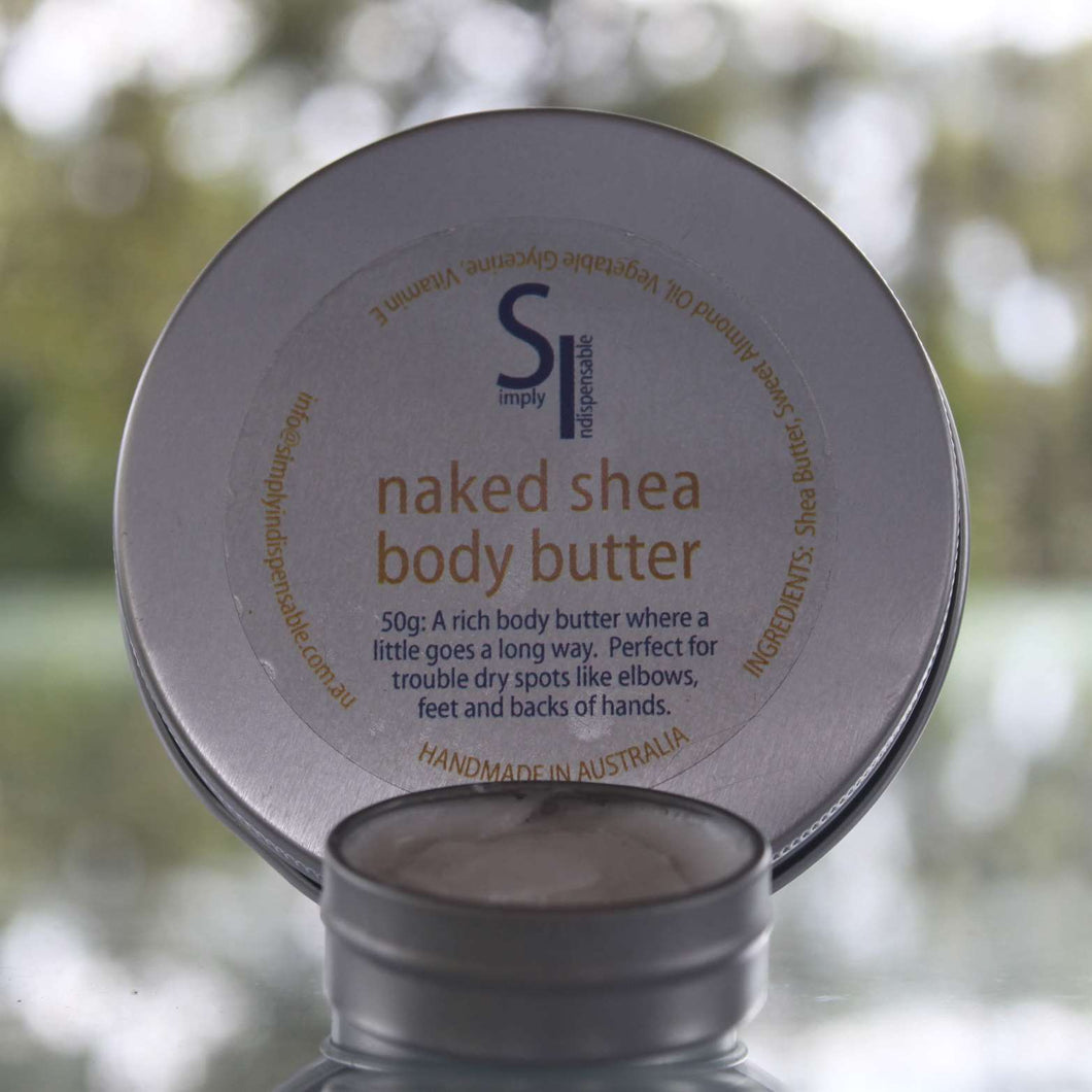 Simply Indispensable Naked Shea Body Butter