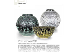 Featured Vessels at <strong>''Terrart''</strong> Contemporary Ceramics Magazine  Num.56