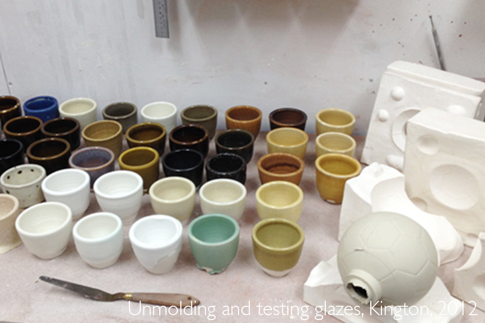 Glazing tests, Albert Montserrat